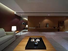 现代简约新中式书房多功能室设计图