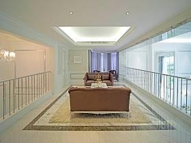 欧式别墅走廊多功能室装修图