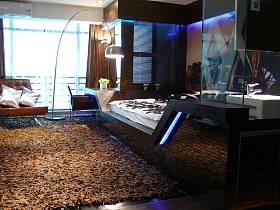 混搭后现代卧室多功能室图片