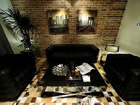 现代简约复古客厅多功能室设计案例展示