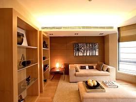 現代簡約書房多功能室設計案例