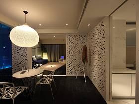 后现代创意卧室多功能室设计图