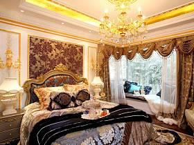 歐式法式臥室裝修圖