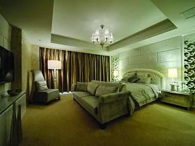 简欧混搭后现代卧室设计案例展示