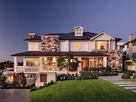 美式美式風格別墅效果圖