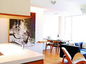 現代簡約北歐宜家客廳餐廳設計案例展示