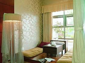 现代简约日式客厅设计图