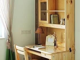 田园美式北欧卧室实木书桌案例展示