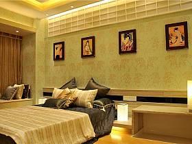 现代简约日式卧室设计方案
