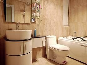 現代簡約衛生間浴室淋浴房裝修圖