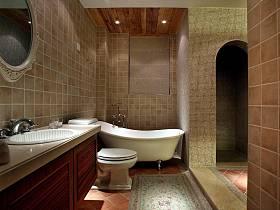 田园卫生间浴室装修案例