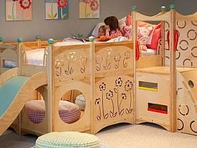 現代簡約兒童房設計案例