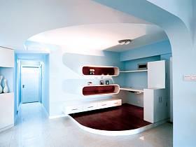 现代书房三居案例展示