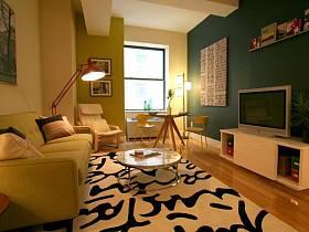 現代簡約現代簡約溫馨一居室一居案例展示