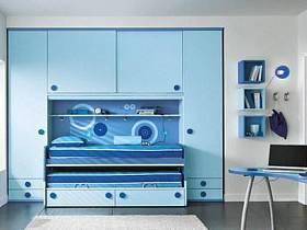 现代简约儿童房设计案例展示