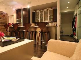 時尚前衛廚房吧臺設計案例展示