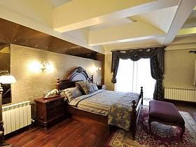 田園臥室木質地板設計案例展示