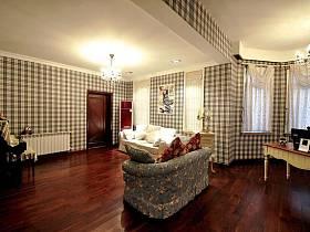 田园美式沙发单人沙发设计案例展示