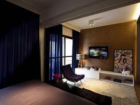 客厅卧室窗帘沙发效果图