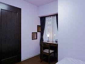 日式溫馨浪漫臥室窗簾梳妝臺妝臺布藝窗簾案例展示