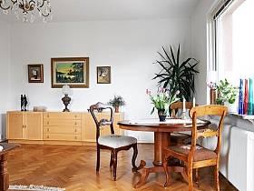 中式古典餐桌餐桌椅椅裝修案例