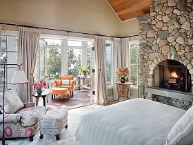 臥室窗簾設計案例