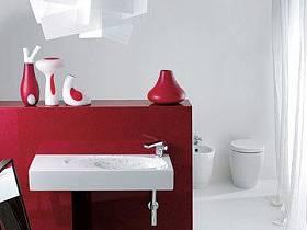 卫生间洗手盆装修效果展示