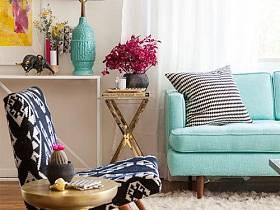 混搭復古沙發椅子椅設計案例