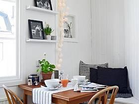 清新客厅卧室阳台一居室一居图片