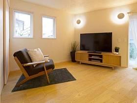 沙发电视柜单人沙发装修案例