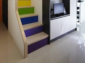 楼梯电视柜设计案例展示