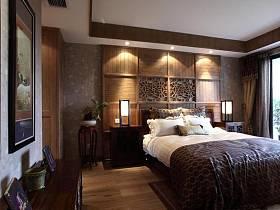 中式温馨典雅卧室装修效果展示