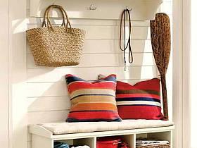 玄关沙发沙发垫玄关柜柜子案例展示
