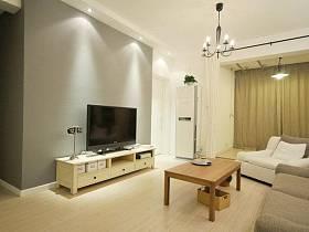 宜家客厅沙发电视柜单人沙发案例展示
