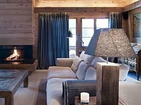 現代簡約別墅木質地板設計方案
