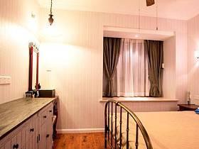 精致復古古典浪漫臥室床架設計方案