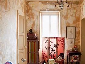 自然臥室臥室門壁紙設計案例