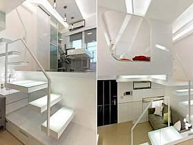 客厅厨房楼梯设计案例展示