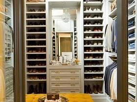 簡歐美式衣帽間衣柜裝修效果展示