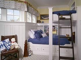 美式兒童房設計案例展示