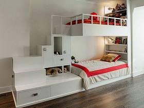 現代簡約兒童房裝修案例