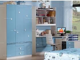 現代簡約其他風格兒童房衣柜實木衣柜木衣柜案例展示