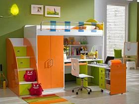 现代简约儿童房儿童房家具椅设计案例展示
