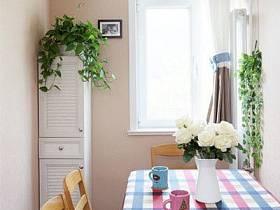 简约简约风格餐厅窗帘图片