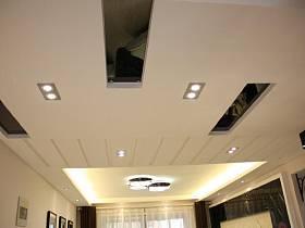 其他風格客廳餐廳過道吊頂水晶燈射燈案例展示